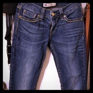 Levi lowcut jeans